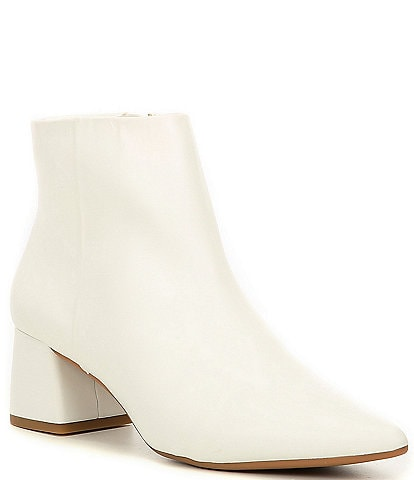 Alex Marie Tionna Leather Block Heel Booties
