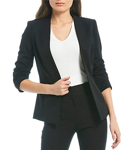 Alex Marie Wayne Twill Crepe Washable Suiting Jacket