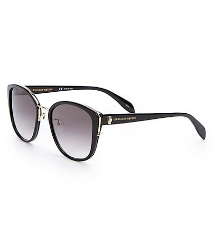 Alexander McQueen Cat Eye Skull Sunglasses
