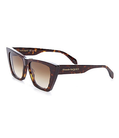 Alexander McQueen Women's Cat Eye 54mm Sunglasses