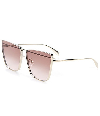 Alexander McQueen Women's Cat Eye 63mm Sunglasses
