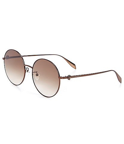 Alexander McQueen Women's Round 59mm Sunglasses