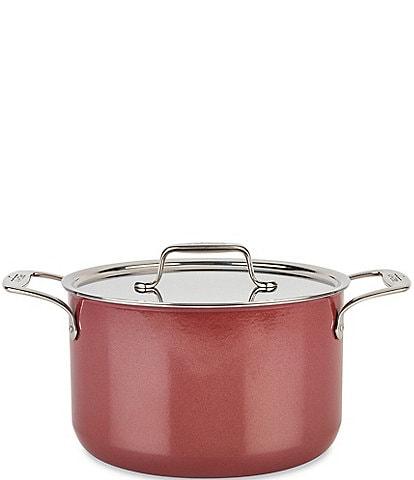 All-Clad FUSIONTEC Cookware 4-Quart Soup Pot with Lid