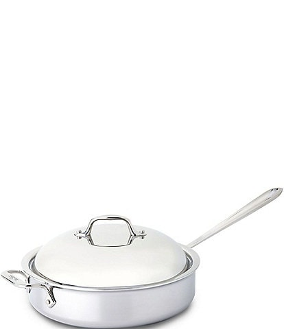 All-Clad Stainless Steel 4-Quart Saut Pan with Dome Cover