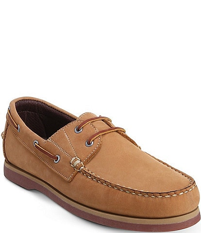 Allen-Edmonds Men's Force 10 Water Resistant Leather Slip-On Boat Shoes