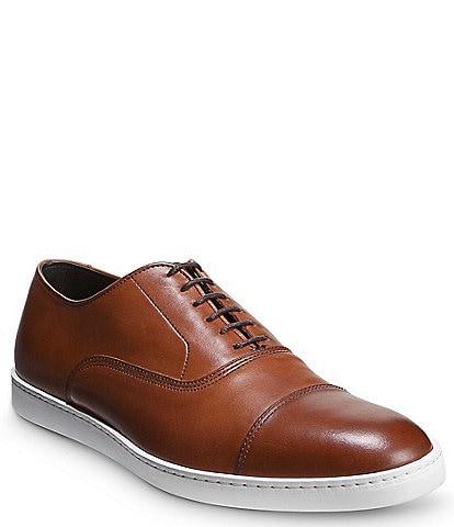 Allen-Edmonds Men's Park Leather Cap Toe Sneakers