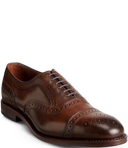 Allen-Edmonds Strand Cap-Toe Leather Dress Oxfords