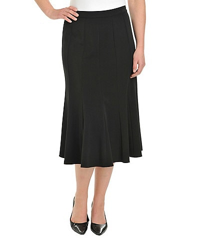 Allison Daley A-Line Midi Skirt