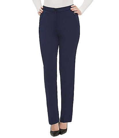 Allison Daley Comfort Waist Straight Leg Pants
