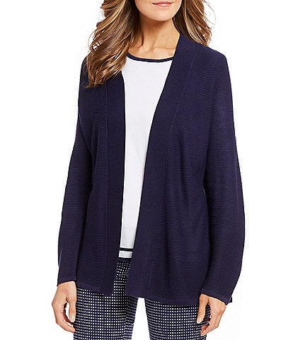 Allison Daley Open-Front Cardigan