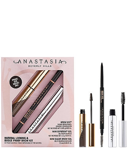Anastasia Beverly Hills Natural Looking & Budge Proof Brow Kit