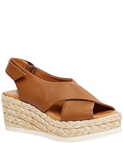 Andre Assous Corbella Leather Espadrille Sandals