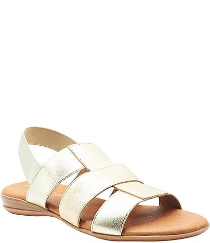 Andre Assous Norinne Featherweights™ Elastic Fisherman Slingback Sandals