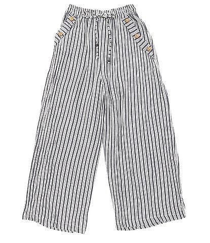 Angie Big Girls 7-14 Stripe Pants