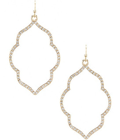 Anna & Ava Addy Pav Filigree Statement Earrings