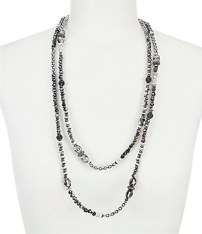 Anna & Ava Beaded Double Strand Necklace