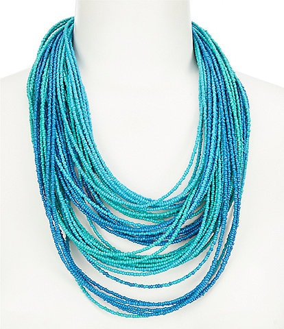 Anna & Ava Beaded Multi Strand Necklace