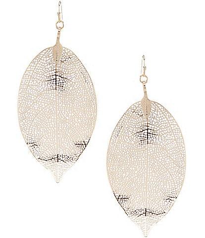 Anna & Ava Darla Leaf Earrings