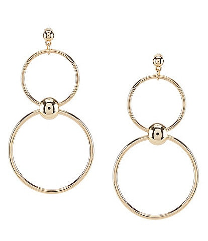 Anna & Ava Double Hoop Statement Earrings