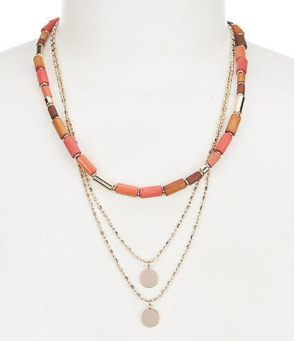 Anna & Ava Multi Strand Necklace Multi Strand Necklace