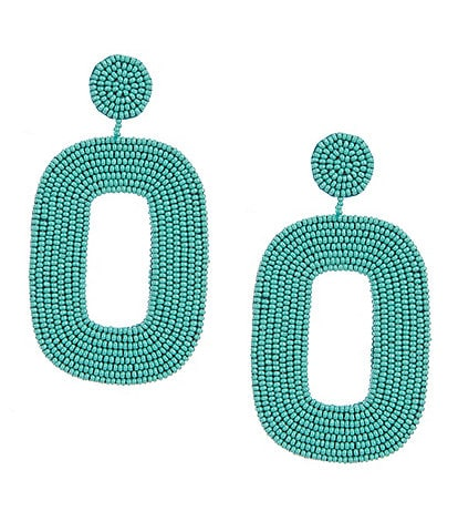 Anna & Ava Oversized Beaded Earrings