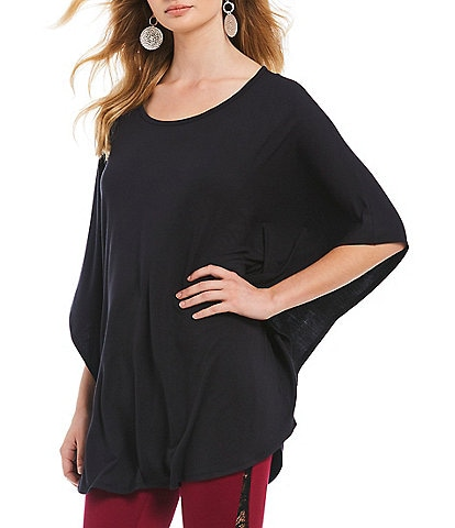 Anna & Ava Scoop Neck Jersey Poncho
