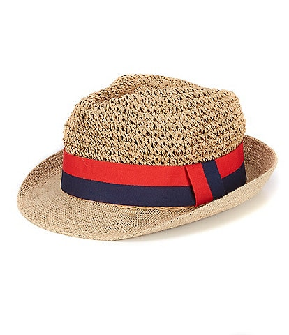 Anna & Ava Short Brim Fedora Sun Hat