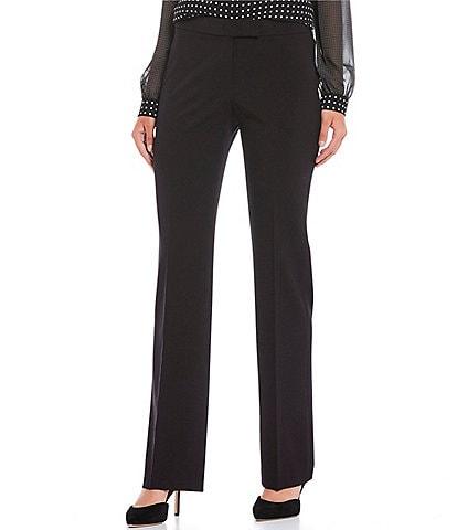 Anne Klein Bi-Stretch Suiting Straight Leg Pants