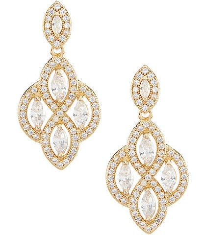 Anne Klein Chandelier Earrings