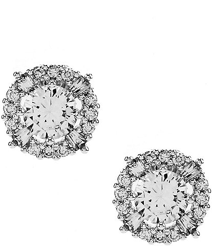 Anne Klein Elevated Cubic Zirconia Stud Earrings
