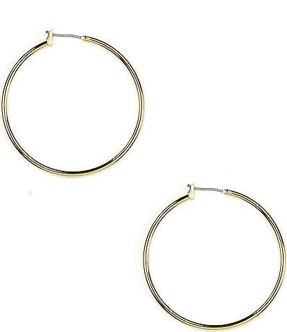 Anne Klein Solid Hoop Earrings