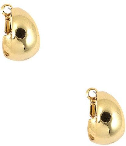 Anne Klein Medium Gold Hoop Earrings