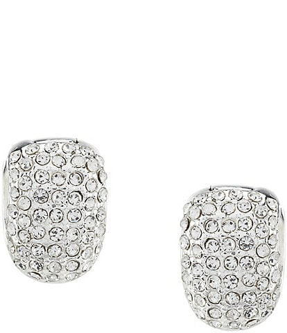 Anne Klein Pave Clip-On Earrings