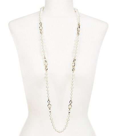 Anne Klein Pearl Strand Necklace