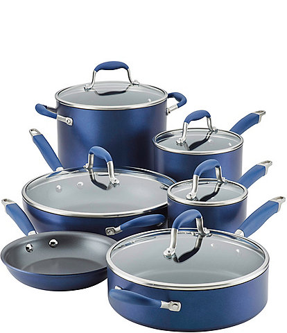 Anolon Advanced Home Hard-Anodized Nonstick 11-Piece Cookware Set