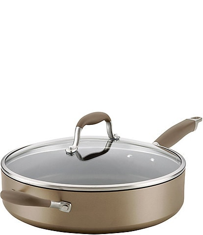 Anolon Advanced Home Hard-Anodized Nonstick Saute Pan with Helper Handle