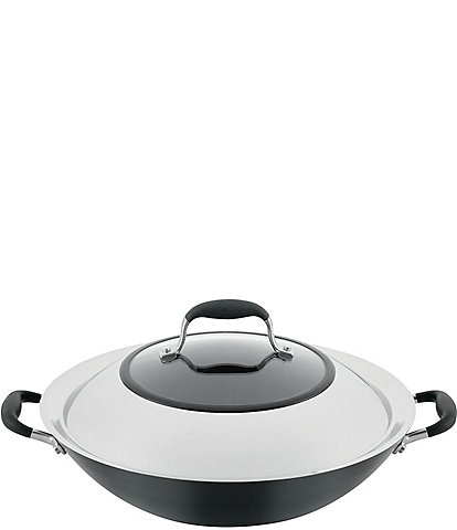 Anolon Advanced Home Hard-Anodized Nonstick Wok with Side Handles