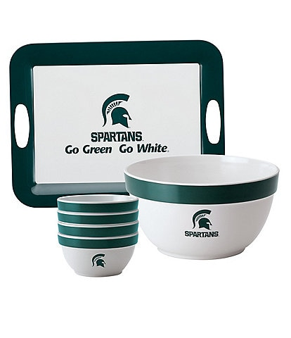 College Kitchen Collection Michigan State 6-Piece Service Set