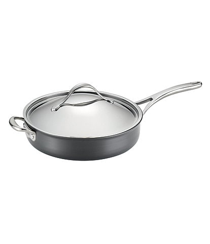 Anolon Nouvelle Hard-Anodized Aluminum & Copper Covered Saut Pan with Helper Handle
