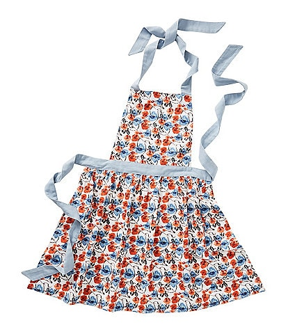 Anthropologie Home Daily Bakeware Floral Apron
