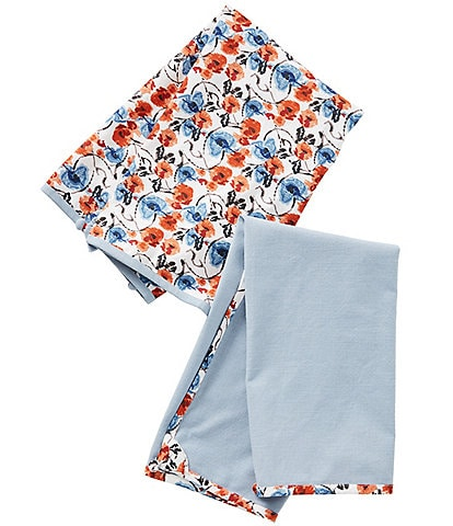Anthropologie Home Daily Bakeware Floral Dish Towel, Set of 2