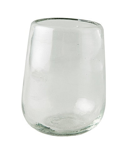 Anthropologie Home Ardel Stemless Wine Glasses, Set of 4
