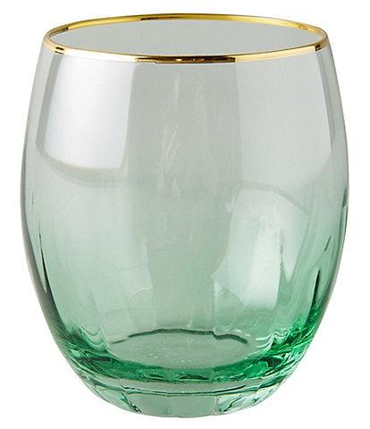 Anthropologie Home Vita Stemless Wine Glasses, Set of 4