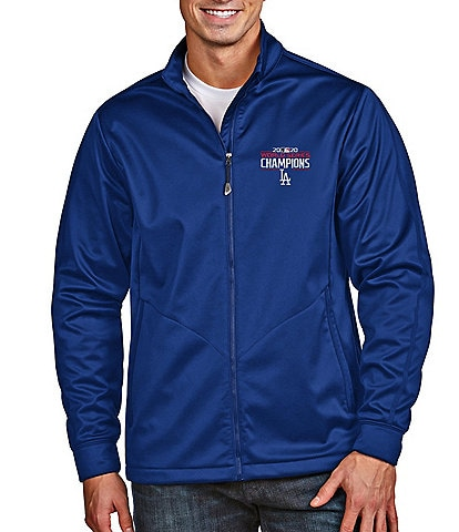 Antigua Los Angeles Dodgers 2020 MLB World Series Champions Full-Zip Golf Jacket