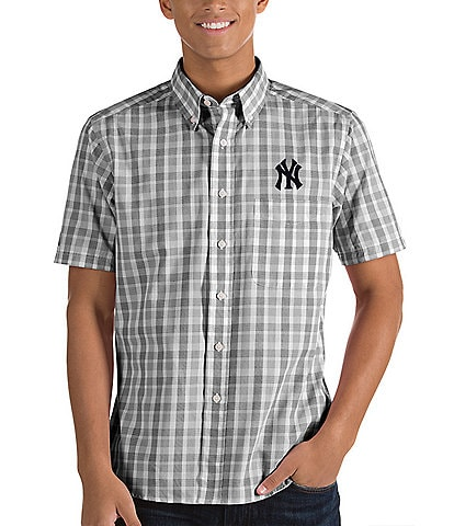 Antigua MLB Crew Short-Sleeve Woven Shirt