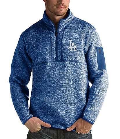 Antigua MLB Fortune Quarter-Zip Pullover
