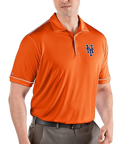 Antigua MLB National League Salute Short-Sleeve Polo Shirt