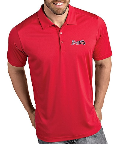 Antigua MLB National League Tribute Short-Sleeve Polo Shirt