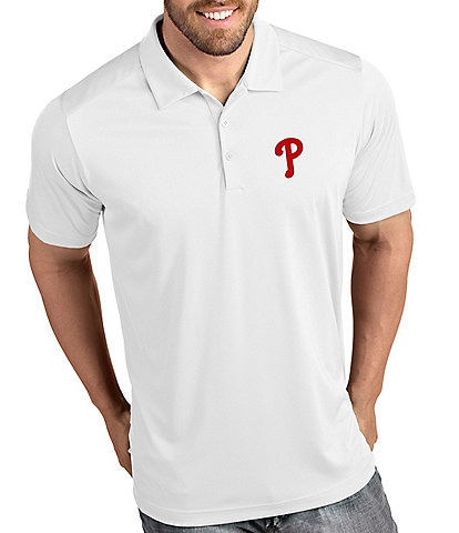 Antigua MLB National League Tribute Short-Sleeve Polo Shirt