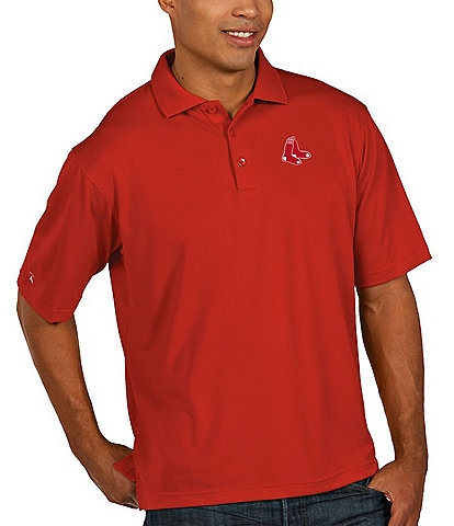 Antigua MLB Pique Xtra-Lite Short-Sleeve Polo Shirt